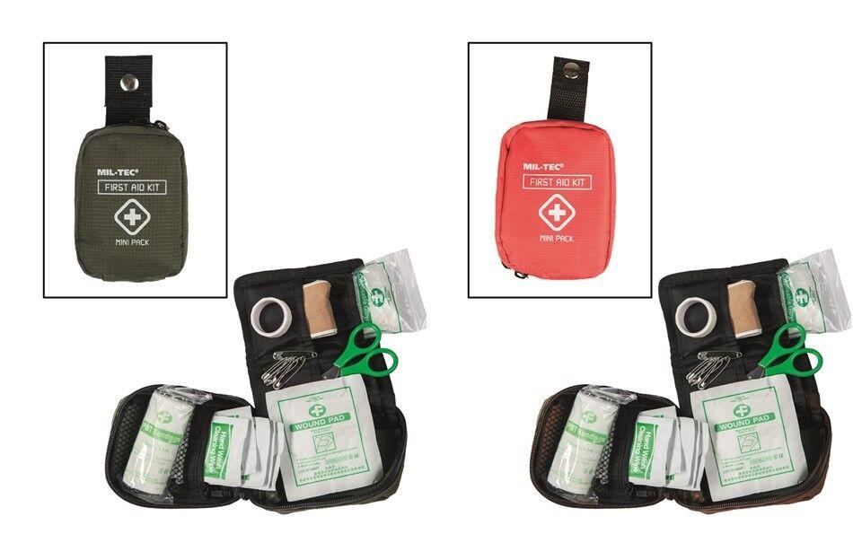 ERSTE HILFE SET Mini Pack Verbandstasche Sanitätstasche Sanibag Mil-Tec