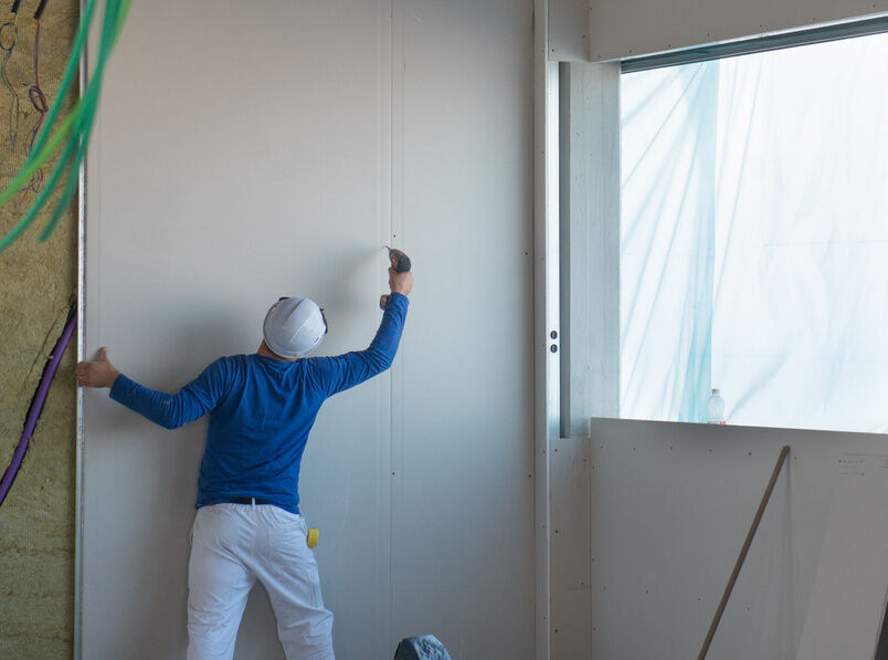 Image Result For When Building A House What Comes After Drywall
