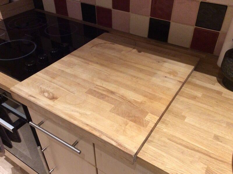 IKEA Wooden Chopping Boardworktop Protector In Barton