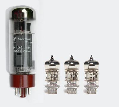EL34/12AX7/ECC83 Valve kit for the SL5 Marshall guitar amplifier