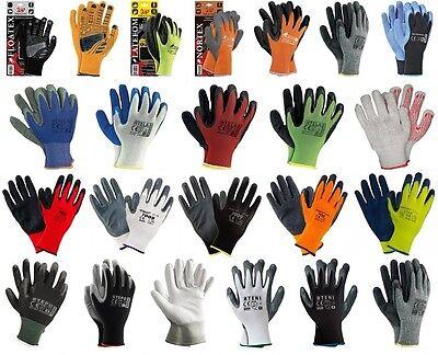 12- 240 PAAR Arbeitshandschuhe Garten Montage Mechaniker Handschuhe TOP Quality