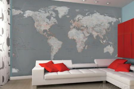 World map mural bedroom path decorations pictures full path world map wallpaper murals wallpaper earth tone world map mural wallpaper bedroom wall murals in aesthetic bedroom designs rilane map wall mural in the gumiabroncs Image collections