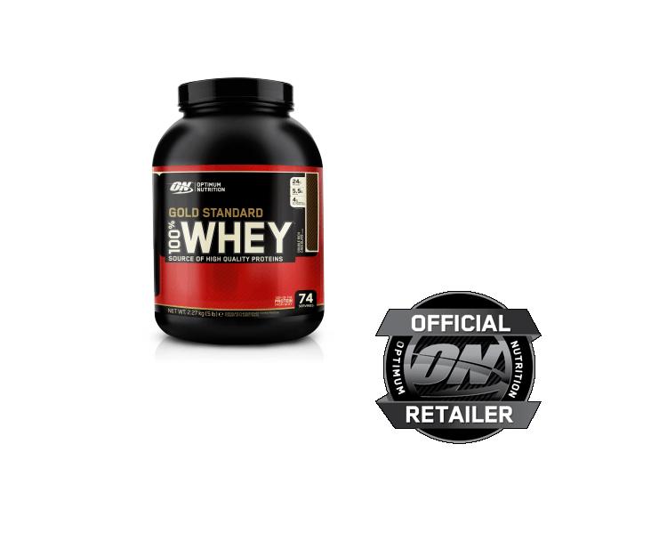 (19,32€/kg) Optimum Nutrition 100% Whey Gold Standard Protein 2,27kg ALLE SORTEN