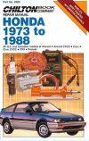 HONDA Civic 1973 1974 1975 1976 19771978 1979 Service Shop Repair Manual