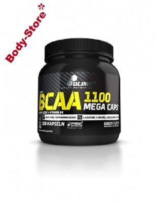 (60,21€/kg) Olimp BCAA Mega Caps 1100 mg 300 Kapseln Stück L-Leucin L-Valin