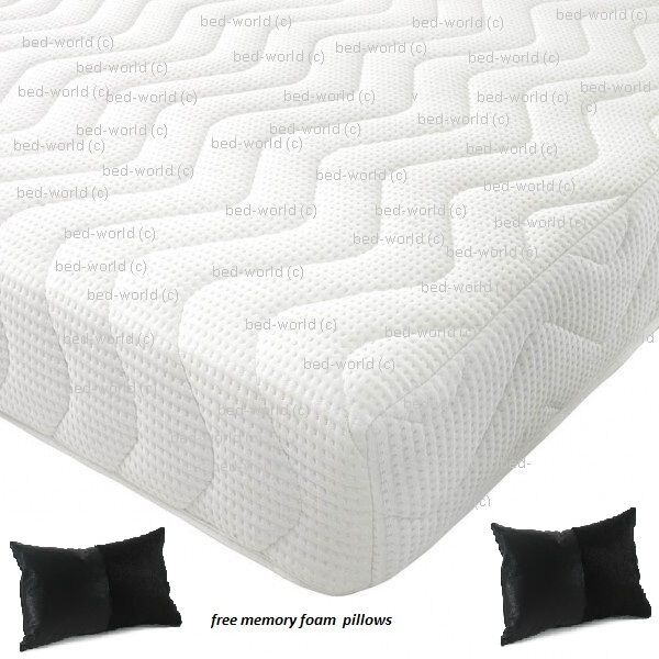 Reflex Memory All Foam Mattress 5 1 Free Pillows Next Day Delivery