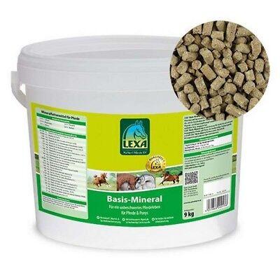Lexa Basis Mineral 9kg Mineralfutter Pferd Mineralien Zink Spurenelemente (3,10€