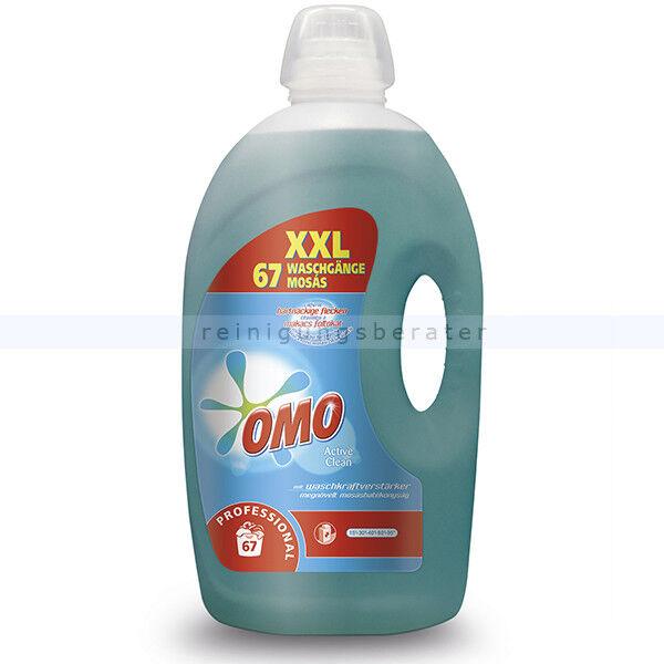 Flüssigwaschmittel Diversey OMO Prof Active Clean 5 L Universalvollwaschmittel