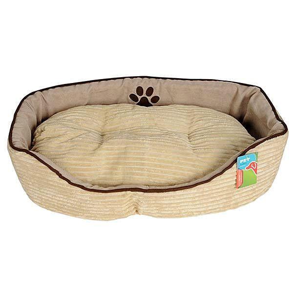 Hundebett M - L mit Kissen Hundekorb Hundesofa Hunde Katzen Tier Bett Katzenbett