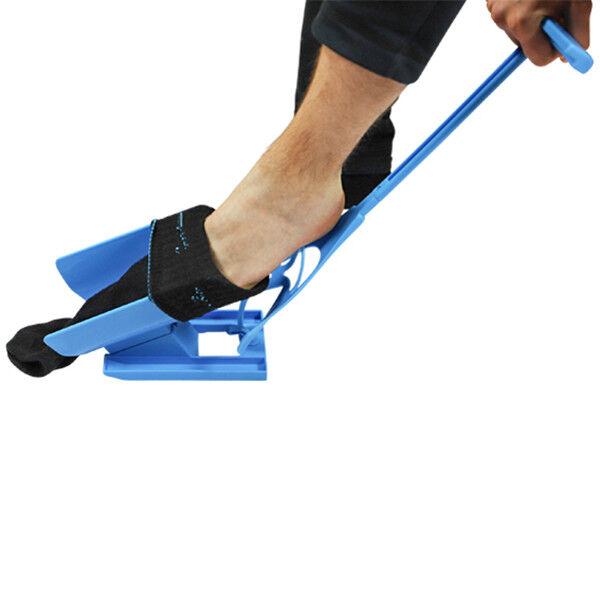 UPP Socken Anziehhilfe 3 in 1 Schuhlöffel Strumpfanziehhilfe Ankleidehilfe