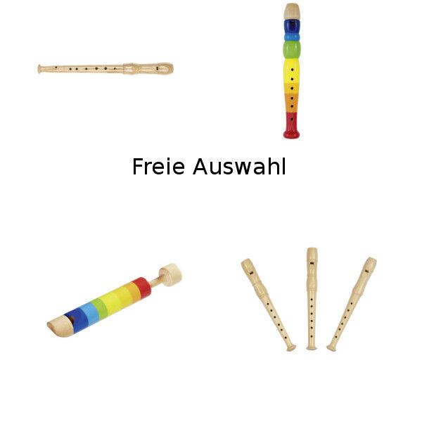 Flöte Blockflöte Holzflöte Kinderflöte Musikinstrument Holz goki Auswahl