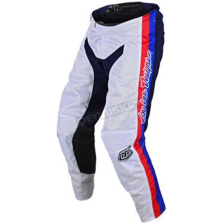 Pantaloni cross enduro GP Air Premix 86 Troy Lee Designs TLD 20496400 bianco