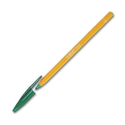 Bic Orange grün Einwegkugelschreiber