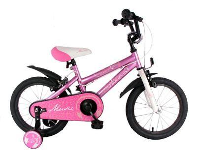 16 Zoll Fahrrad Kinder Bike Rad Bike Kinderfahrrad Mädchenfahrrad Kinderrad Pink