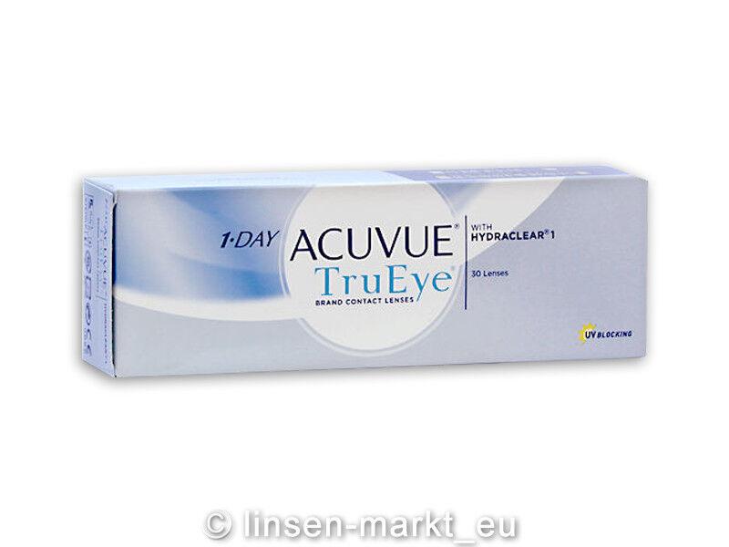 1-Day-Acuvue TruEye moderne Premium-Tageslinsen 1x30