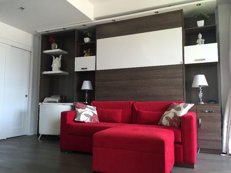 Lit Escamotable Sofa Et Lit Mural IMURAL Fabrication
