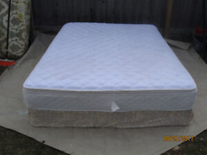 Queen Matress And Boxspring