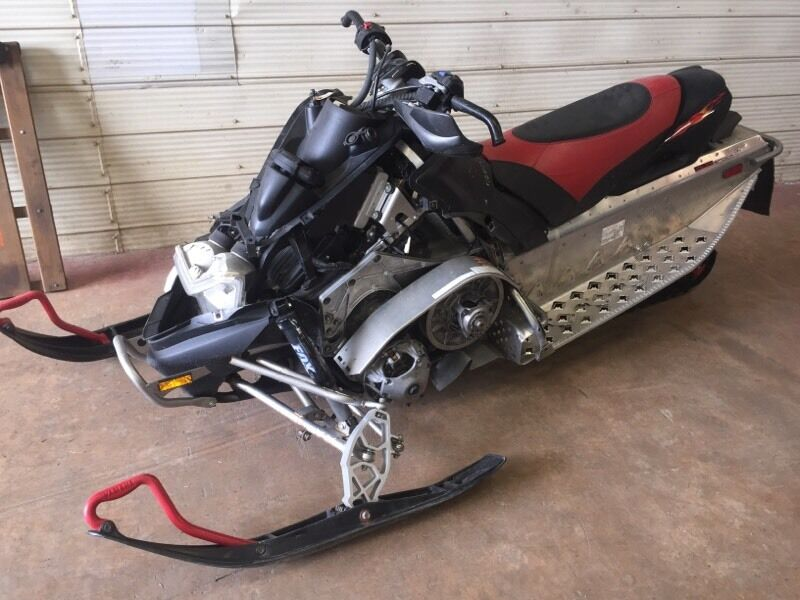 Parting Out A Yamaha Nytro Rtx Snowmobile