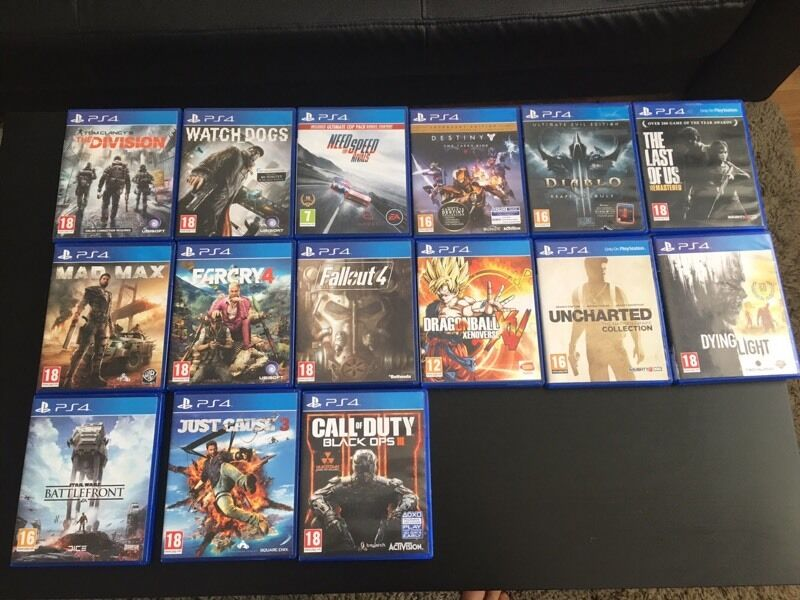PS4 Games good condition      in Harrow  London   Gumtree PS4 Games good condition