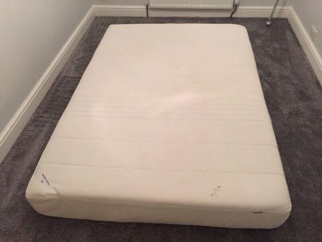 Ikea Sultan Flokenes Memory Foam Mattress
