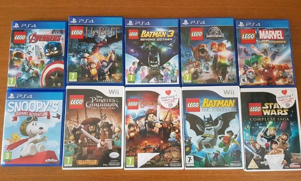 Lego Games Ps4 And Wii In Norwich Norfolk Gumtree