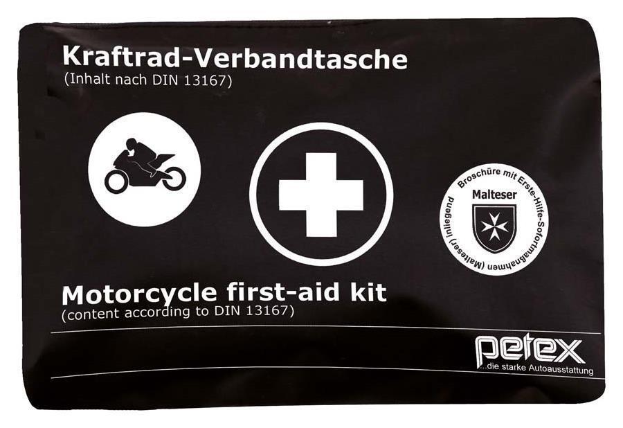 Motorrad Verbandtasche Verbandskasten Verbandstasche Kraftrad DIN 13167 Zweirad