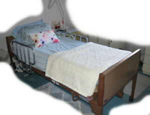 Great Deal Used Invacare Model 5491ivc Hospital Bed