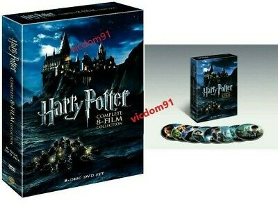 Harry Potter: The Complete 8-Film Collection (DVD, 2011, 8-Disc Set) Brand New