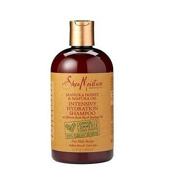 Shea Moisture Manuka Honig & Mafura Öl Intensiv Hydration Shampoo 369ml/384ml