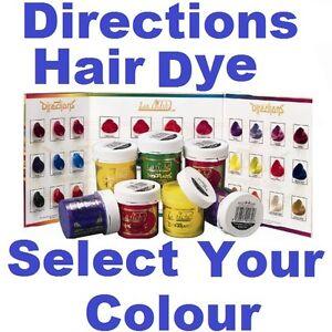 la riche directions semi permanent hair colour dye choose your colour red ebay