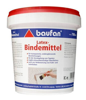 Baufan Latex Bindemittel 750ml Tapeten Beschichtung