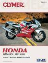 HONDA CBR600, CBR600F4 MOTORCYCLE REPAIR MANUAL 99-06