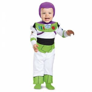 Disguise Toy Story Movie Buzz Lightyear Deluxe Infant Halloween Costume 85605