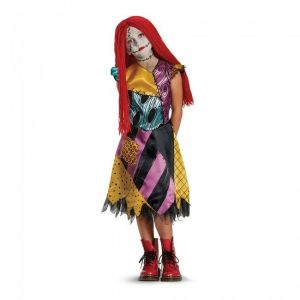 Nightmare Before Christmas Sally Deluxe Child Girls Halloween Costume 21602