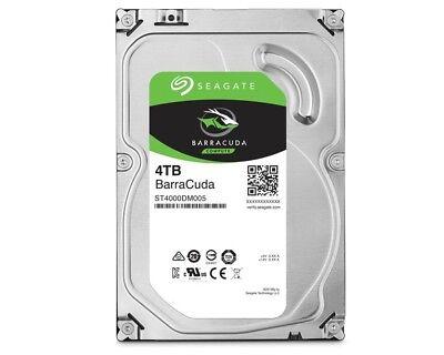 4TB Seagate BarraCuda, intern, 8,89 cm (3,5 Zoll) (ST4000DM004) Festplatte sATA3