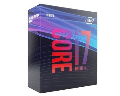 Intel i7 9700K CPU BOX Prozessor, 8-Core, 3,6GHz, Coffee Lake LGA 1151