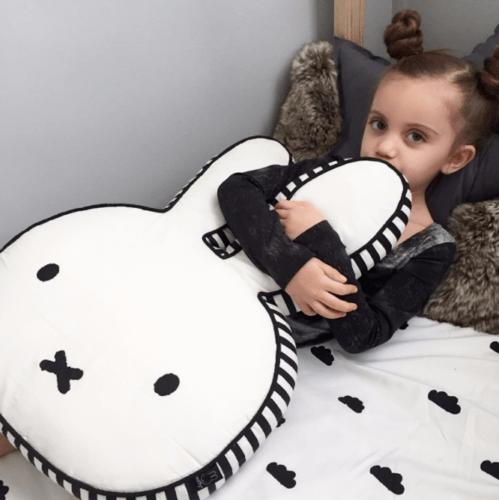 Neu Miffy Kaninchen Plüsch Spielzeug Kissen niedlich Tier Baby Hase Kissen Gifts