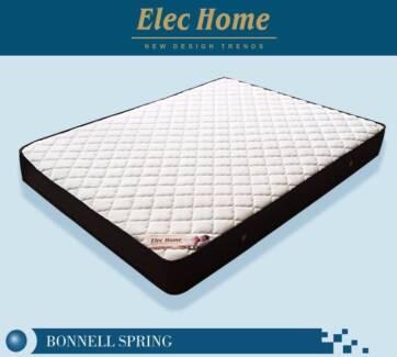 Brand New D Q K Bonnel Spring Super Firm Mattress Sh010