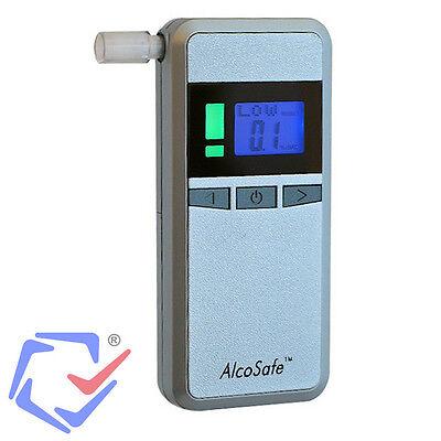 Digital LCD Alkoholtester Alkomat Promilletester Alkohol Test Mundstücke TOP