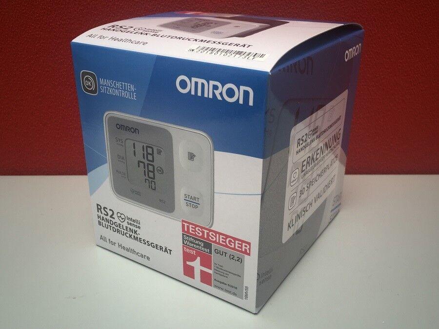 OMRON - RS2 - Handgelenk Blutdruckmessgerät - PZN 13974956 (ehem. PZN 01476182)