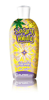 """SuperTan SuperSensation """"Sugary Vanilla"""" 200 ml. 3-fach Bräunungsbeschleuniger !"""