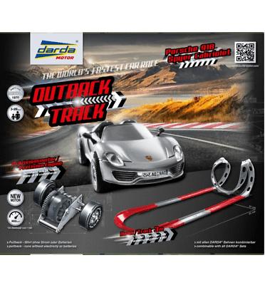 Darda Bahn Outback Track mit Porsche 918 Syder Neu & Ovp