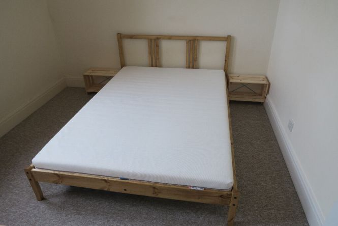 Ikea Double Bed And Mattress For Only 3 Months Old