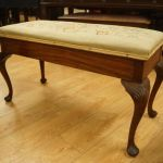 Vintage Queen Anne Piano Duet Bench In Polished Mahogany In Bonnington Edinburgh Gumtree