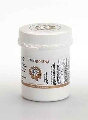 Schuessler Salz Nr. 7 - Magnesium phosphoricum D6 - 1000 Tabletten, glutenfrei