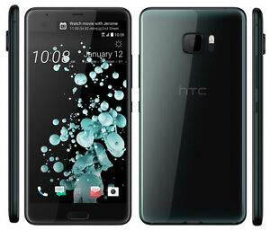 """New Imported HTC U Ultra Duos Dual 64GB 4GB 5.7"""" 12MP 6MP Black Color"""