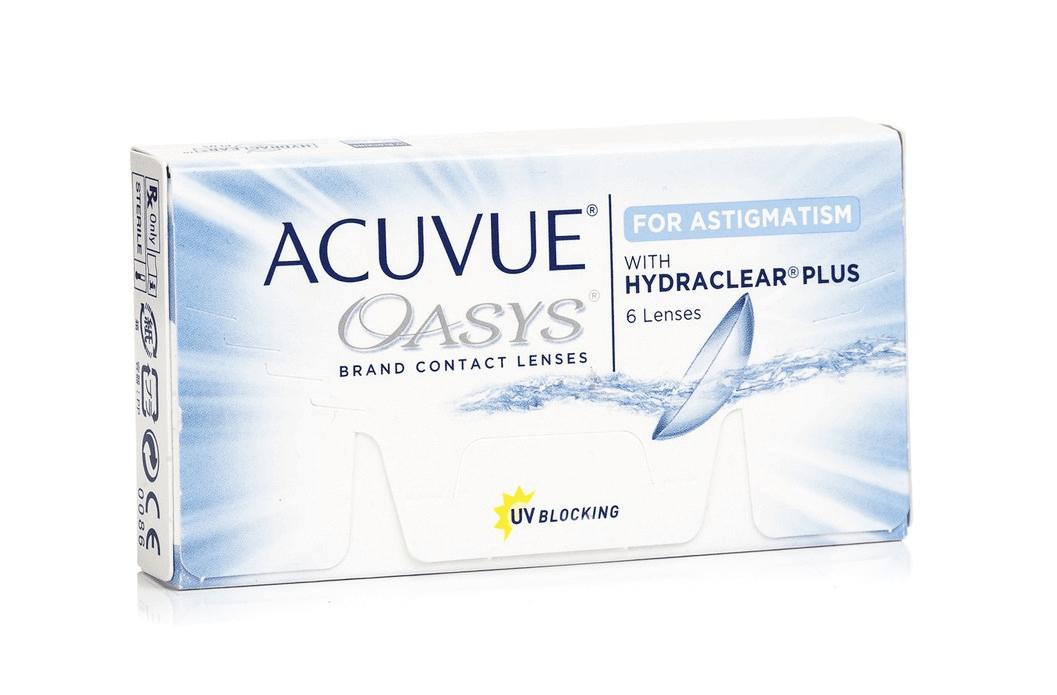 Acuvue Oasys for Astigmatism 2-Wochenlinsen weich, 6 Stück -8.00 Dioptrien