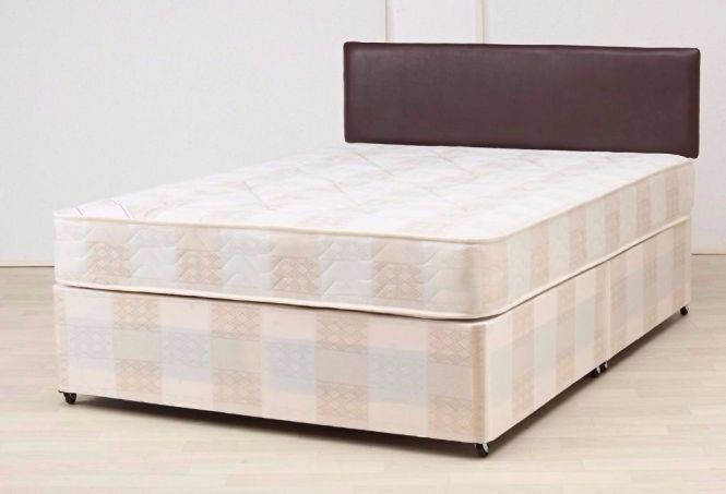 Double Or King Size Divan Bed With Semi Orthopaedic
