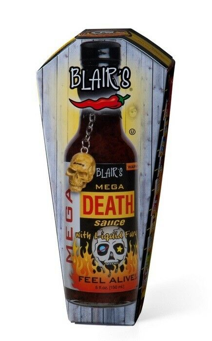 Blair´s Mega Death Sauce scharfe Chilisauce rd. 550000 Scoville (12,33€/100 ml)