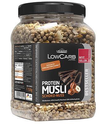 19€/kg Layenberger LowCarb.one Protein Müsli mehr als 40% Eiweiß 530g Dose